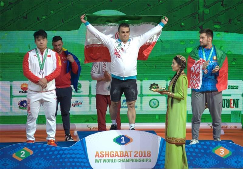 وزنه برداری قهرمانی دنیا، تیم ملی ایران بر سکوی سوم ایستاد