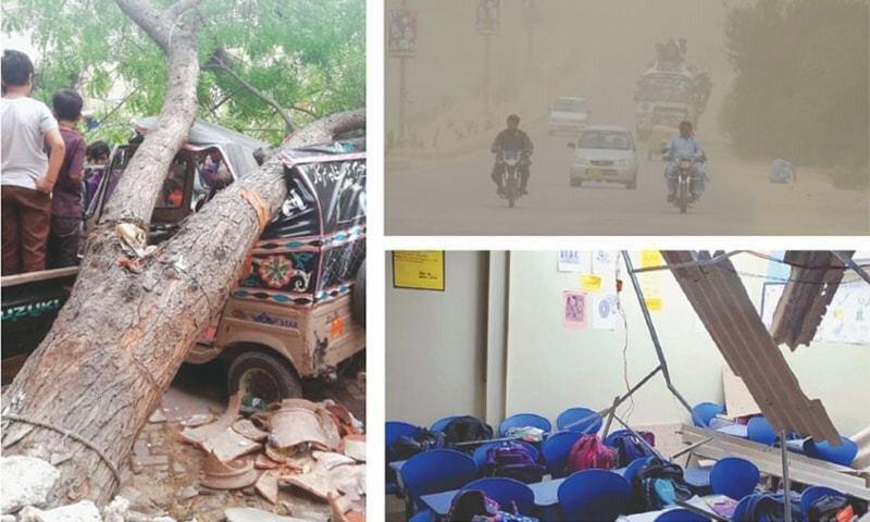 سیل و طوفان در پاکستان 25 قربانی گرفت