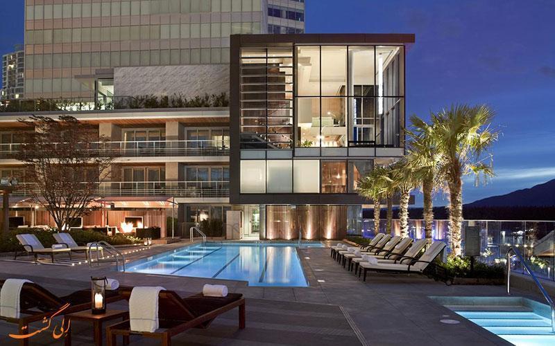 معرفی هتل 5 ستاره فرمونت پسیفیک ریم ونکوور کانادا