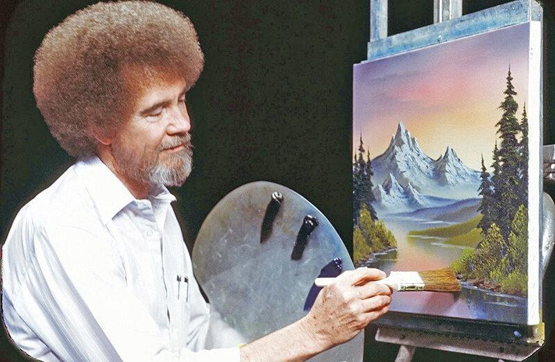 نخستین نمایش موزه ای تابلوهای باب راس 24 سال پس از مرگ
