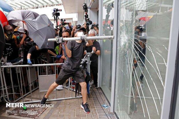 واکنش چین به ناآرامی ها در هنگ کنگ