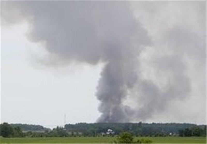 انفجار مهیب در انبار مواد منفجره در غرب مونترال