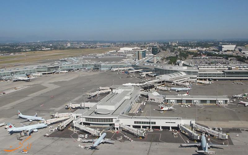 معرفی فرودگاه بین المللی ونکوور