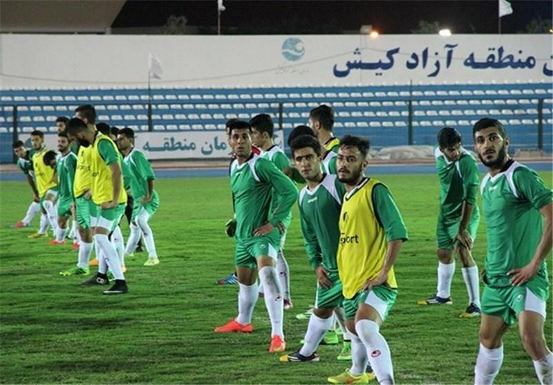 نخستین تمرین تیم فوتبال امید ایران در عمان برگزار گردید