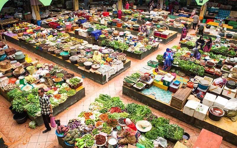 در این بازارهای مالزی، ارزان خرید کنید