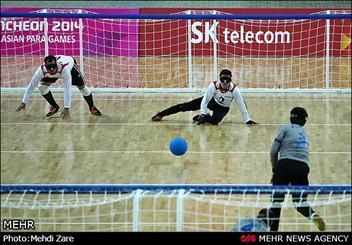 گلبال ایران با شکست کانادا به یک چهارم نهایی راه یافت
