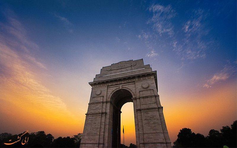 معرفی دروازه هند دهلی، مهم ترین بنای تاریخی ملی دوران جنگ اول