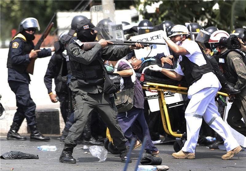 ابراز نگرانی آمریکا از درگیری های تایلند