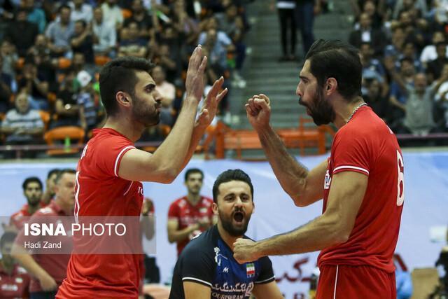تیم ملی والیبال ایران برای سومین بار قهرمان آسیا شد