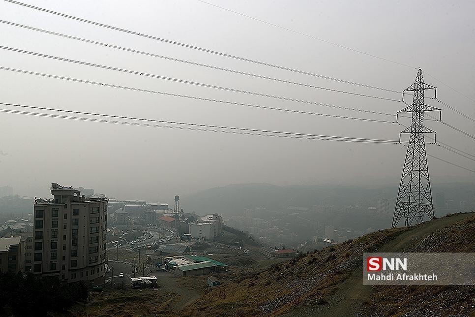 هوای تهران برای گروه های حساس ناسالم می گردد