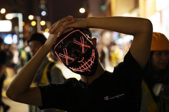 تدابیر امنیتی شدید در هنگ کنگ در تدارک برای موج اعتراضات به مناسبت هالووین