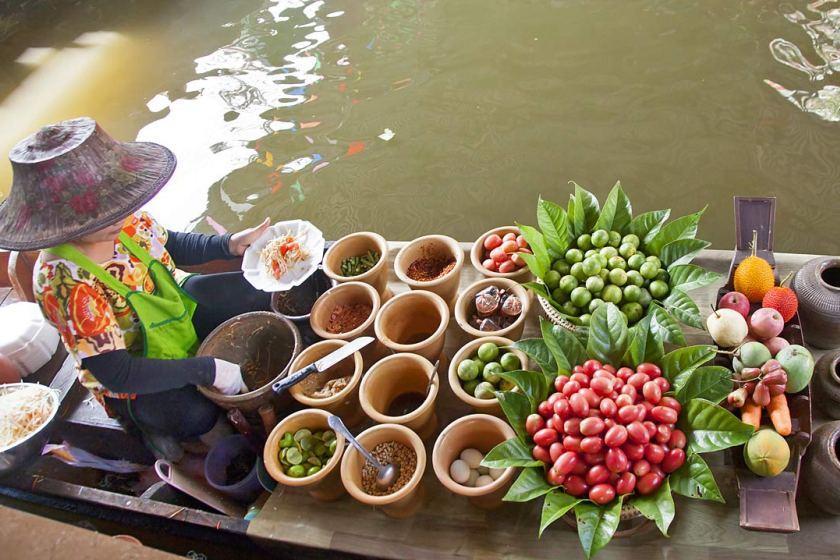بازارهای شناور بانکوک، تایلند (قسمت اول)