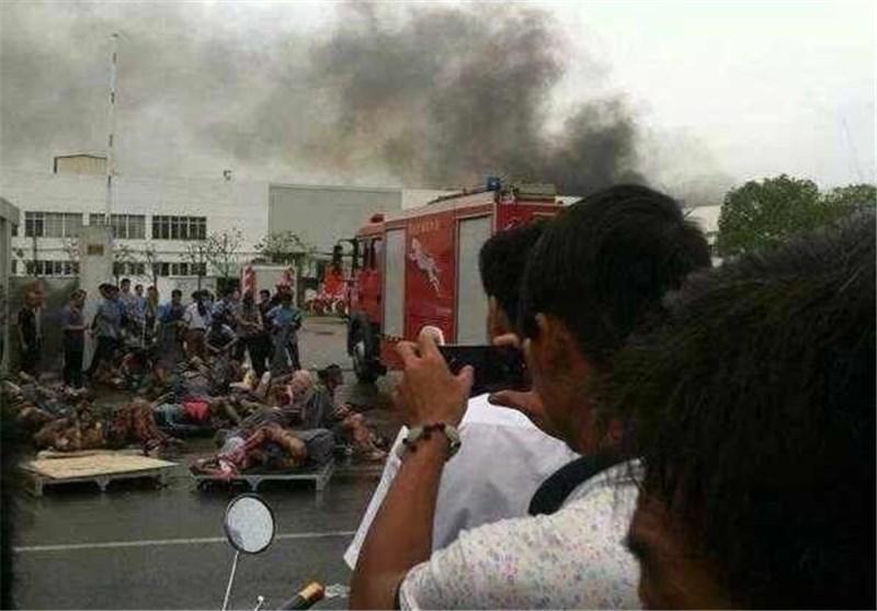 65 کشته و 100 زخمی بر اثر انفجاری در چین