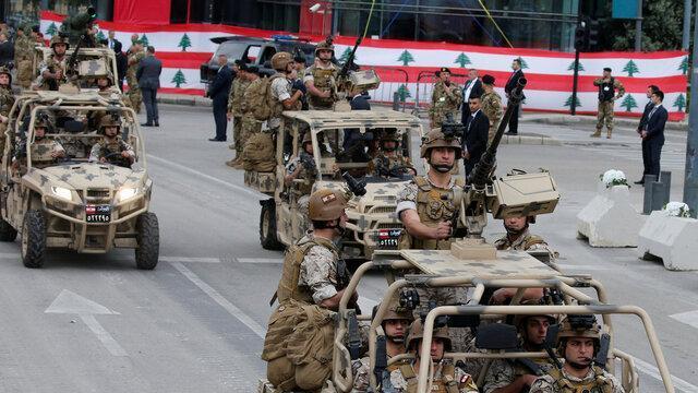 انگلیس به ارتش لبنان یاری می نماید