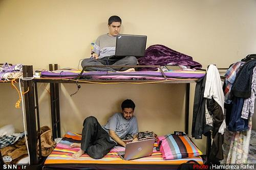 تمامی دانشجویان روزانه متقاضی خوابگاه دانشگاه کردستان اسکان داده شدند