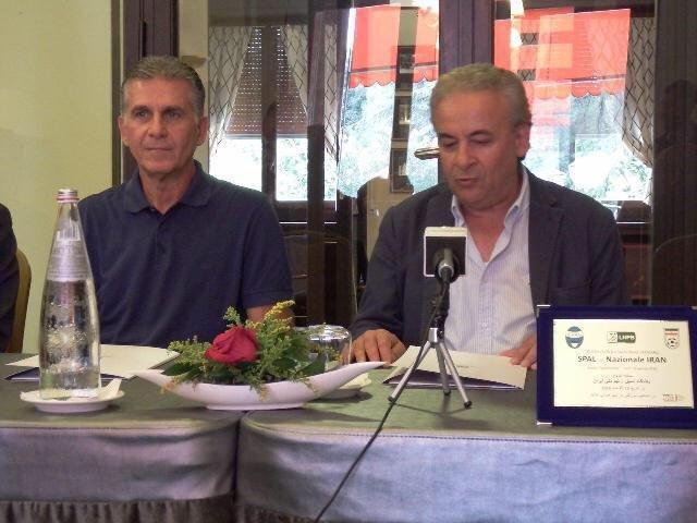 نشست مشترک کی روش با مدیر باشگاه اسپال، مدیراسپال : ایران بهترین تیم آسیا است
