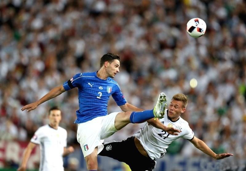 ایتالیا در دیداری محبت آمیز به مصاف آلمان می رود