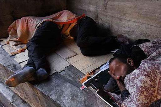 60 درصد کارتن خواب های تهران تحصیل کرده اند