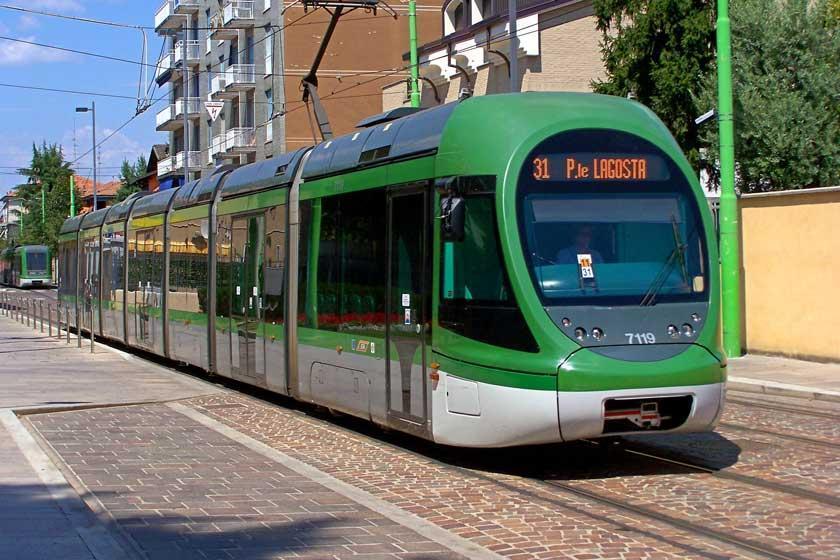 حمل و نقل عمومی در میلان، ایتالیا