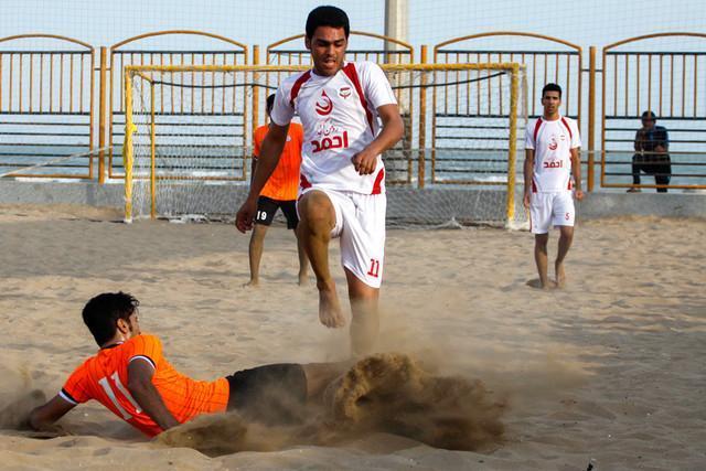 نادری: ایران در فوتبال ساحلی دنیا یک برند است