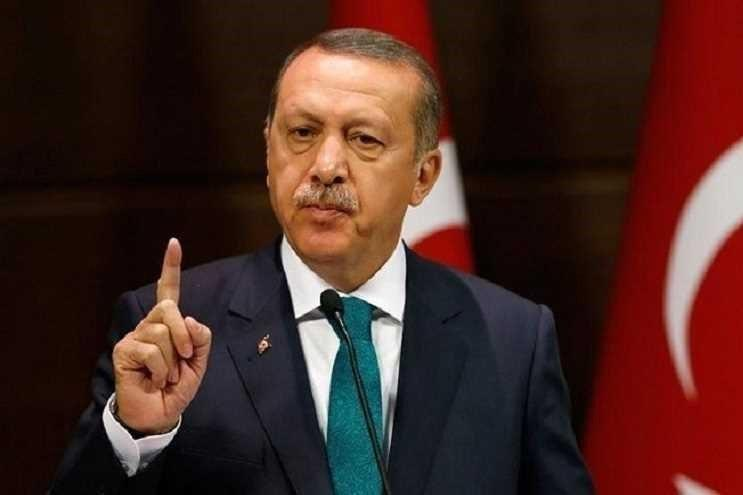 اردوغان: امضای توافقنامه با لیبی حق قانونی ترکیه است