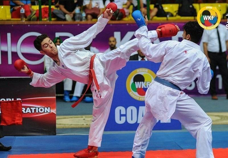 لیگ جهانی کاراته وان پاریس، خاکسار و آسیابری هم حذف شدند