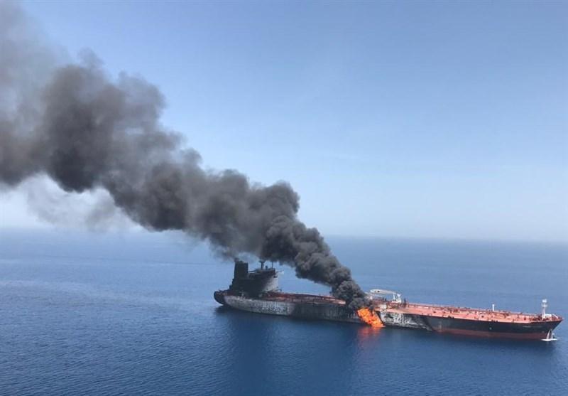 جزئیات انفجار 2 نفتکش در دریای عمان، خدمات رسانی سریع ایران به دریانوردان خارجی