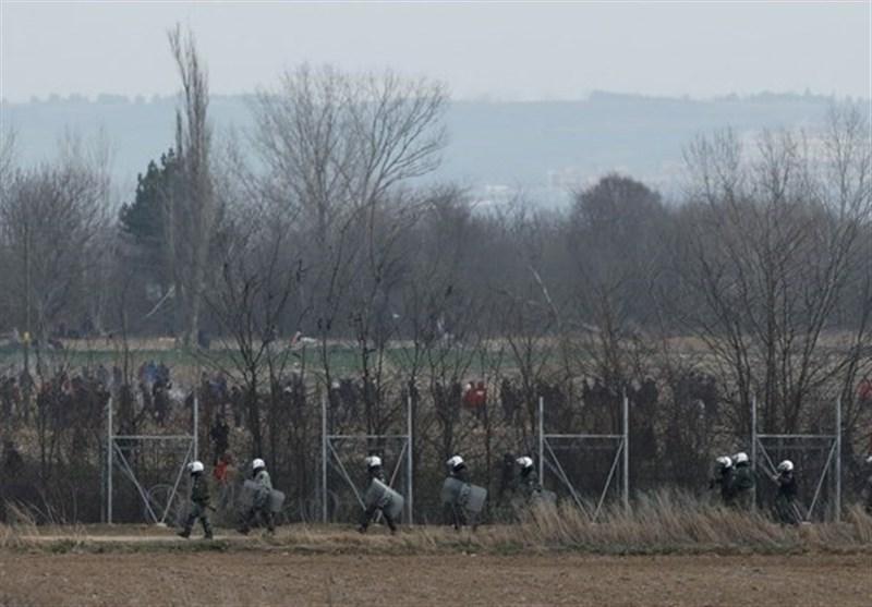 شلیک نظامیان یونانی به سوی مهاجران در مرز ترکیه