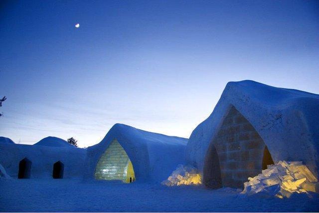 راه اندازی تنها هتل یخی در روسیه