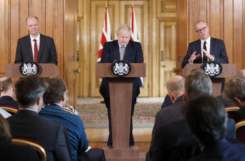 خبرنگاران پیش بینی دولت انگلیس درباره شرایط ویروس کرونا دراین کشور