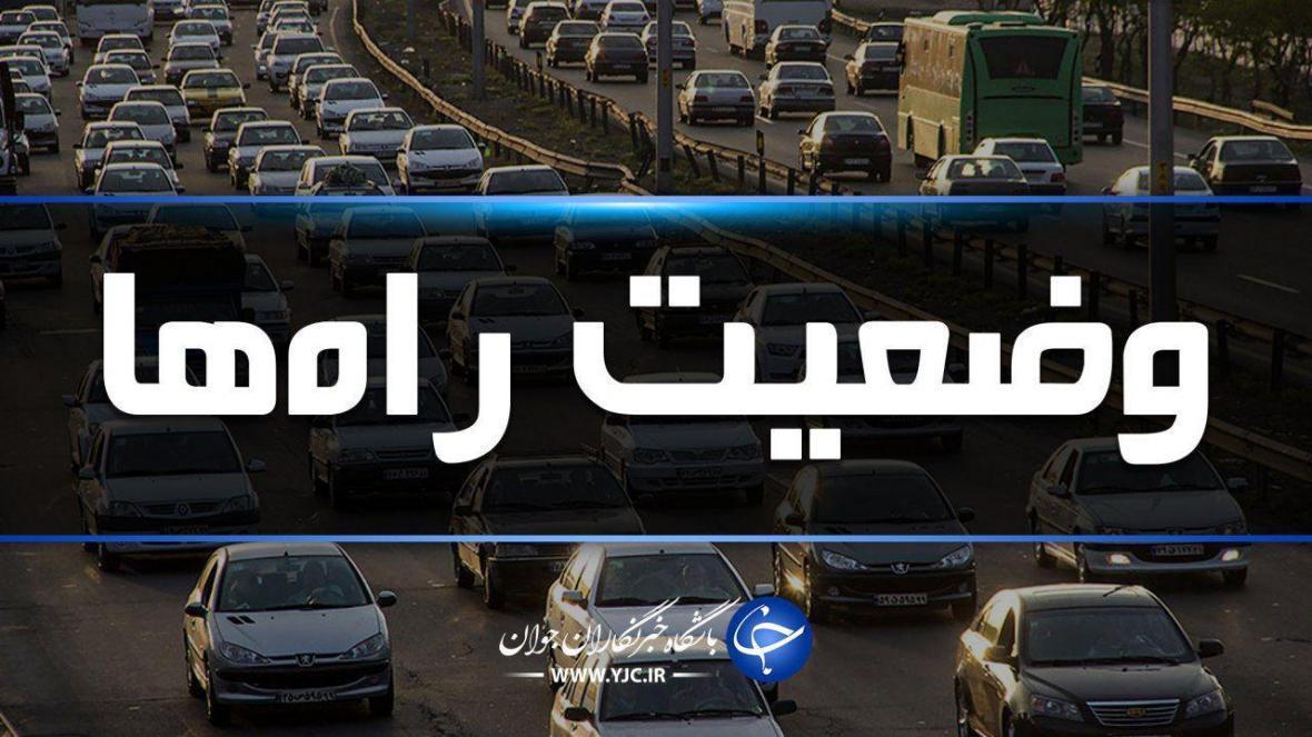 جاده های مازندران در نوزدهمین روز اسفند بدون ترافیک