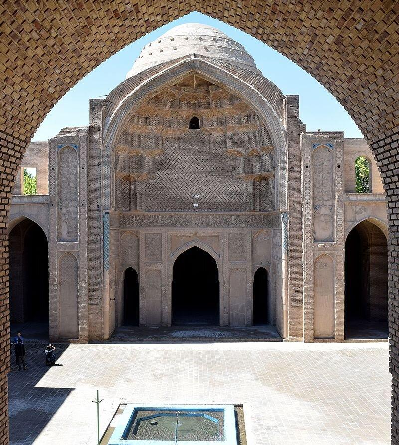 گردشگری مجازی؛ مسجد جامع ورامین یکی از قدیمی ترین بناهای شهر