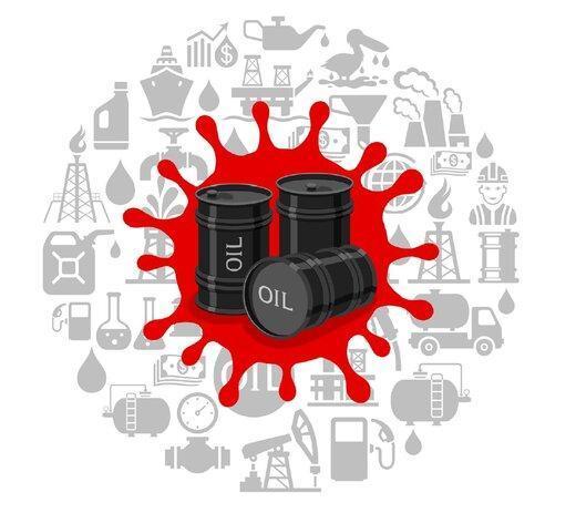 سایه کرونا بر کاهش ذخایر نفت آمریکا، قیمت نفت تغییر چندانی نکرد