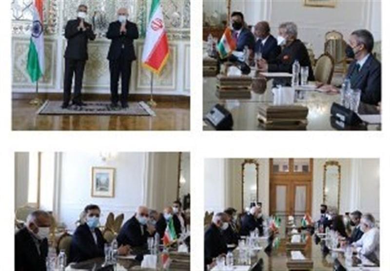 وزرای خارجه هند و ایران بر گسترش روابط دوجانبه تأکید کردند