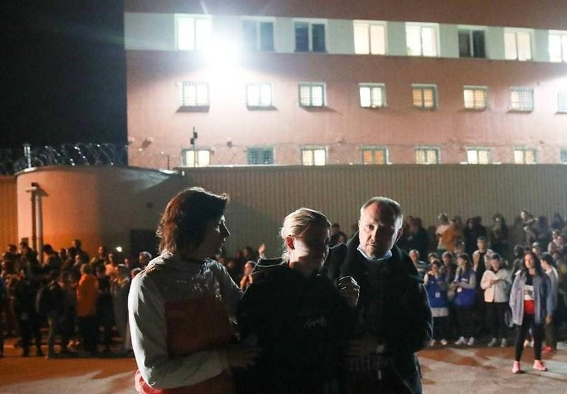 آزادی افراد بازداشت شده در اعتراضات بلاروس