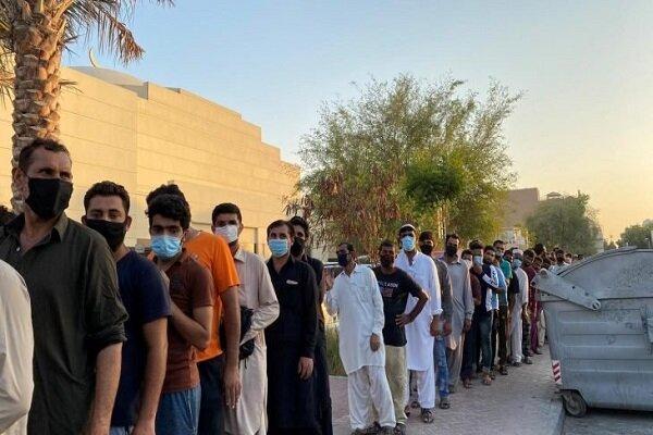 اوضاع اسفبار کارگران خارجی در دبی، هزاران نفر بدون غذا و درآمد