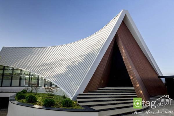 آنالیز معماری داخلی و خارجی ویلای لوکس در لواسان تهران