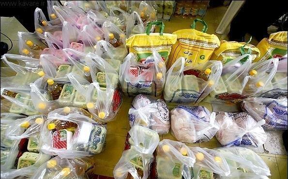 توزیع 30 بسته حمایتی مواد غذایی بین نیازمندان ملایری