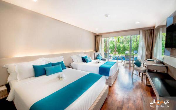 گریسلند پوکت؛ هتلی 4ستاره، شیک و مدرن در منطقه آرام ساحلی، تماشای چشم انداز زیبای دریای آندامان