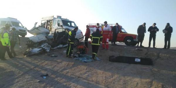 یک کشته و یک مصدوم در تصادف محور طبس به خرانق