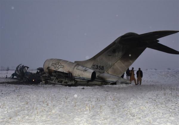 یک سال گذشت؛ نقص فنی عامل سقوط هواپیمای سیا در افغانستان اعلام شد