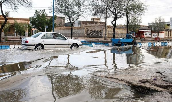 احتمال سیلاب در قم